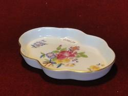 Herendi porcelán tálka, típusszáma: 7705/VBC. Nagyon ritka, egyedi darab.