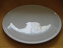 Antik  30 cm-es torta tálca, tortás tál