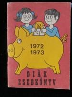 Diák zsebkönyv 1972-1973