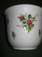 Gyönyörű porcelán kaspó virágtartó Bavaria
