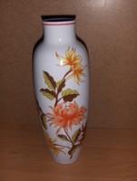 Hollóházi porcelán váza futás emlékverseny 1986 felirattal mag. 20 cm (3/d)