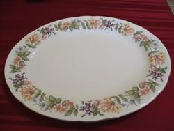 Angol Paragon nagy ovális porcelán tál