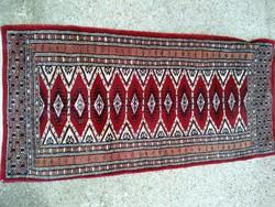 Szőnyeg, pakisztáni bochara  45x90 cm