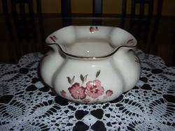 Zsolnay  virágmintás váza, kaspó