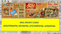 1982 november 18  /  Ludas Matyi  /  SZÜLETÉSNAPRA RÉGI EREDETI ÚJSÁG Szs.:  7229