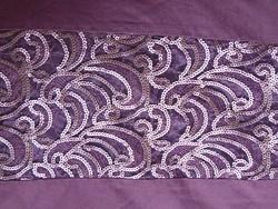 VÉGKIÁRUSÍTÁS !!! Szépséges flitteres lila ágynemű garnitúra