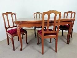 Neobarokk étkező(asztal+4 szék)