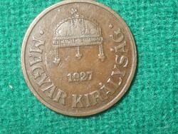 1 Fillér 1927 !
