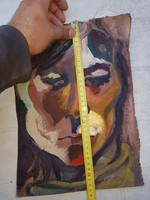 Ujfalusi Éva olajfestménye vásznon, 6.