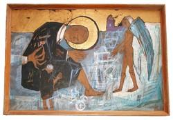 Kondor Béla - Joachim álma című festménye