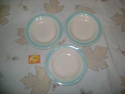 Retro mélytányér, gyerek tányér - három darab