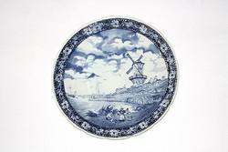 Hatalmas Delft fali tányér