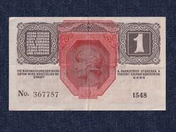 Osztrák-Magyar Korona bankjegyek (háború alatt) 1 Korona bankjegy 1916 / id 10759/