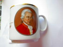 Ritka Mozart csokis bögre