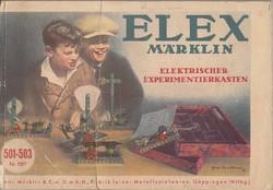 Märklin No 1-3 fémépitő képes árjegyzéke, 1930as évek eleje...