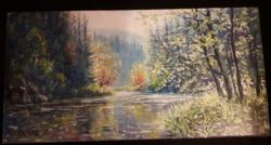 Simon Zoltán gyönyörű festménye