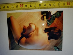 Művészi aktfotók, és gipsz-konstellációk, pár éves képek, méret jelezve