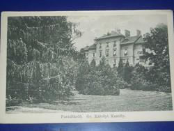 Parádfürdő,Gr.Károlyi Kastély