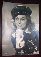 Gyönyörű nagy Rökk Marika fotó 13x18 cm