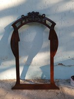Szecessziós tükörkeret. Több Mint 100 éves.