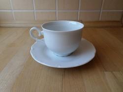 MZ fehér porcelán csésze szett - darabra