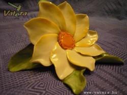 Herendi porcelán virág vitrindísz