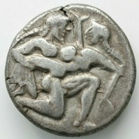 Greek Islands off Thrace. Thasos 520-510 BC. Stater AR 8.76gr;21mm