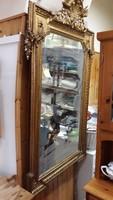 Hatalmas antik tükör 1800-as évek vége