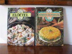 2 dbLajos M- Henző K: 99 étel leírás és fotójuk