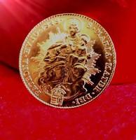 1848 V. Ferdinánd arany Dukát Szabadságharc 986/1000 dukát arany !! UNC !!