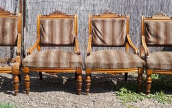 Ónémet fotel garnitúra 4 db