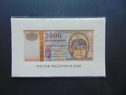 Millenniumi 2000 forint 2000 UNC !