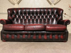 Chesterfield 3+1 kanapé fotellal