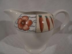 Porcelán - angol porcelán kiöntő - 2.5 dl. hibátlan állapot