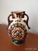 ANTIK Steidl Znaim váza-1880-ból