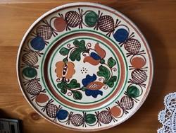 Korondi tányér, falitányér