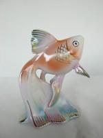 Hollóházi porcelán hal