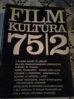 Filmkultúra 1975.  teljes év, a 75/1 első és hátsó borító hiányzik - folyóirat gyűjtemény