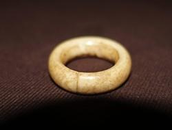 Régi csont gyűrű.