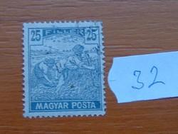 25 FILLÉR 1919 Magyar Posta Arató 32#
