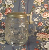 Ónfedeles bütykös üveg  korsó