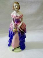 Hummel-Goebel nagyméretű hölgy hegedűvel