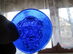 Pécs   régi  címere  ,üvegbe nyomva , 75 mm ,kora  ismeretlen  !