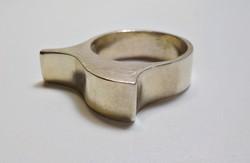 Modern 925-ös  ezüst gyűrű