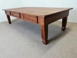 Tömör fa dohányzóasztal