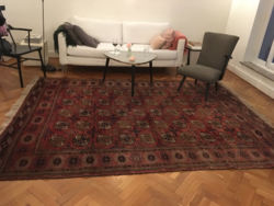 Türkmén tekke kézi csomózású szőnyeg