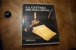 A levél a történelemben és a művészetben , LA LETTERA nella storia e nell'arte művészeti könyv 1975