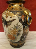 Kézzel festett nagyméretű váza