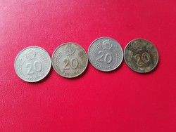 1982-1989-is 20 Forint LOT