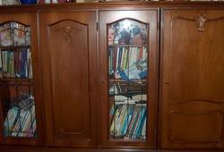 Neobarokk 5 ajtós szekrény, 150 cm magas